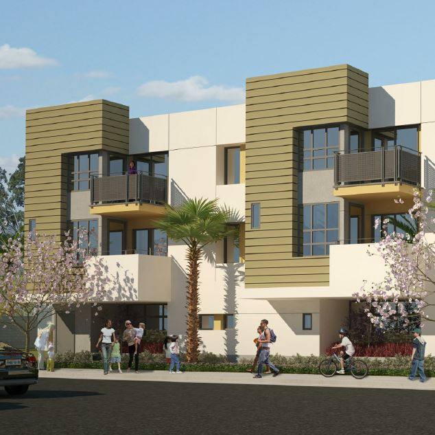 rendering Whittier II